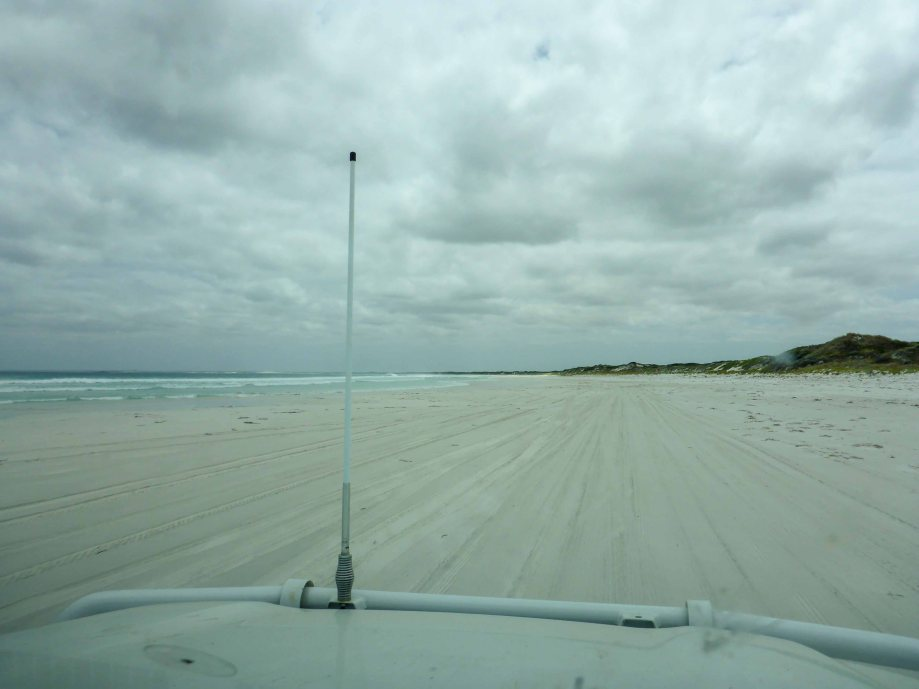 11-2 driving on cape le grand beach