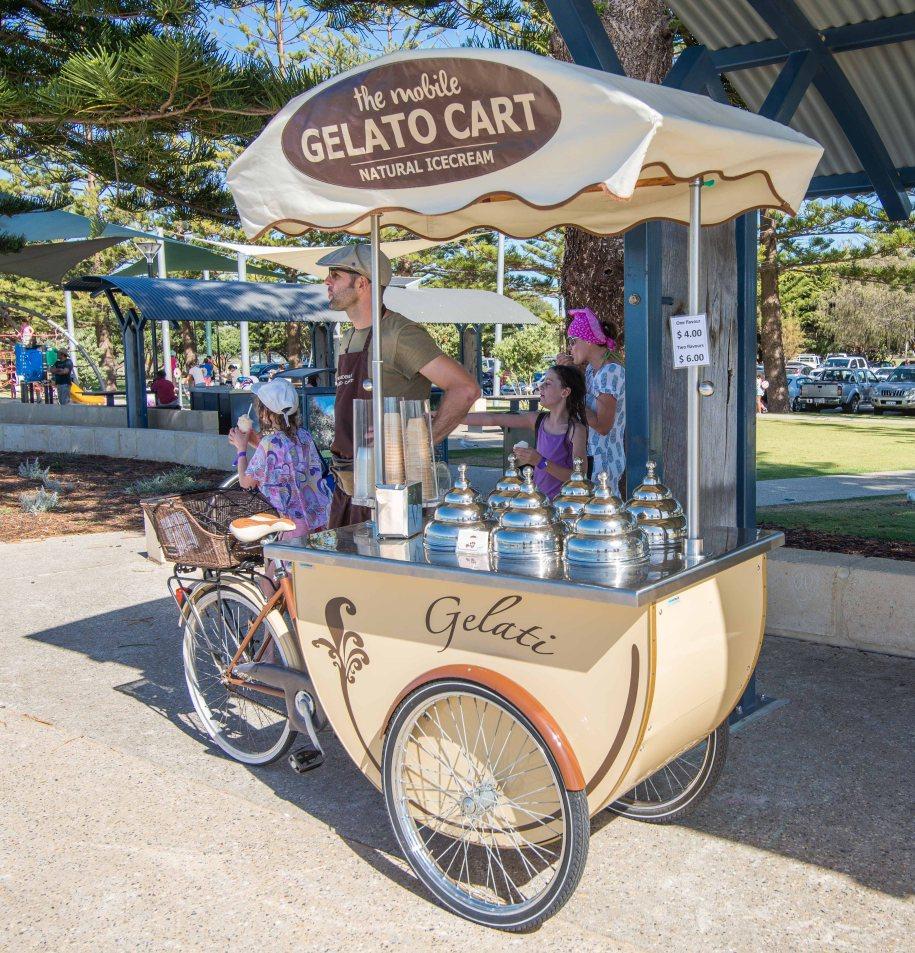 3-1 gelato cart