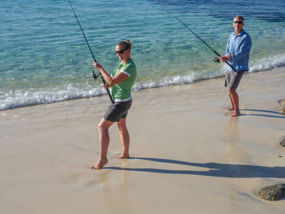 4-2 fishing at little boat beach?