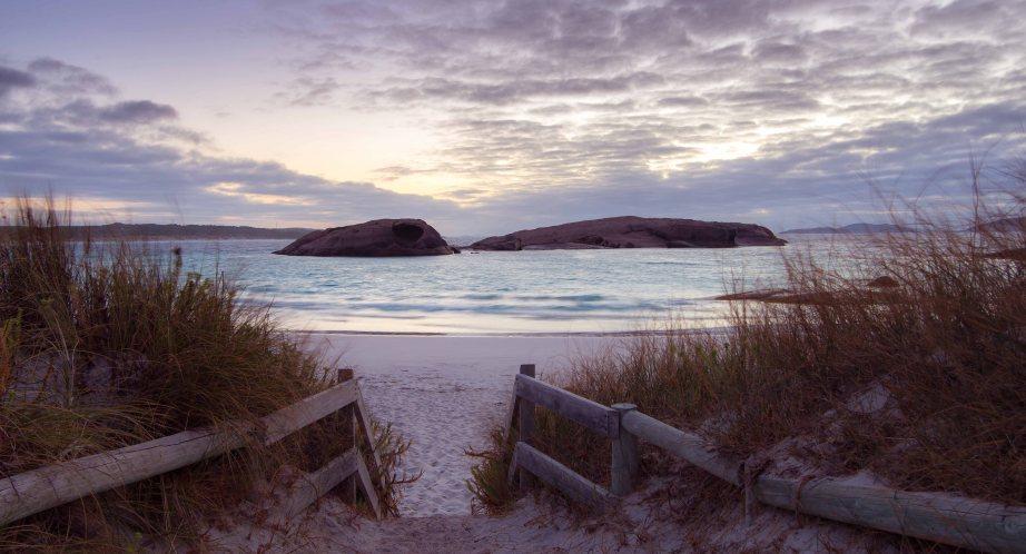 8-2 sunrise twilight beach